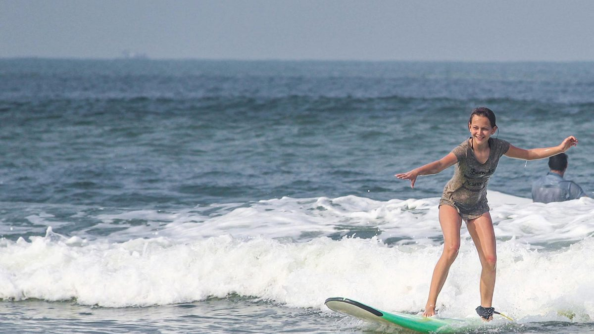 Introduction to Surfing in Andaman & Nicobar Islands.